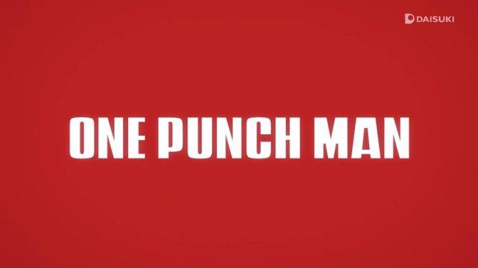 One Punch Man Season 2 : The Human Monster