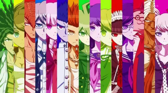 Danganronpa : The Animation : The Reason Super High School-Level Bad Luck Attracted Super High School-Level Murder, Super High School-Level Execution and Super High School-Level Despair