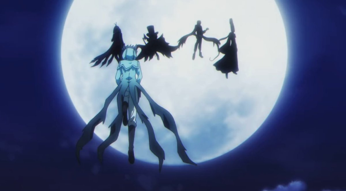 Anime Vampire Black Cat